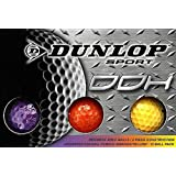 Dunlop DDH Distance Golf Balls (12-Pack), Small, Assorted Colors