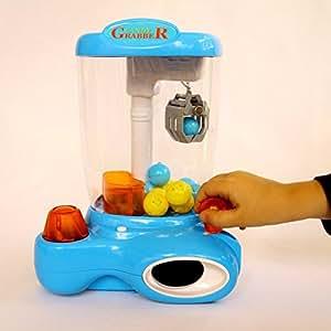 Dazzling Toys - Machine avec pince pour attraper les jouets avec lumières LED (D169)