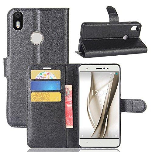 Guran® Funda Cuero PU BQ Aquaris X/X Pro Smartphone