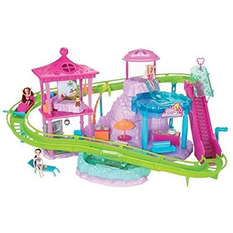 Polly Pocket Roller Coaster Resort Playset by