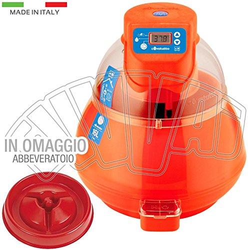 Incubatrice covatutto 16l digitale automatica uova / novital