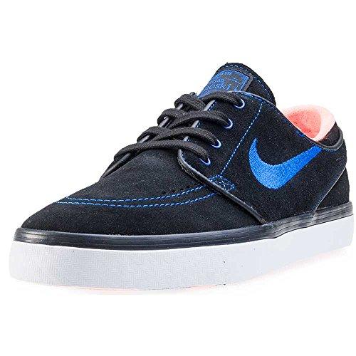 Nike Zoom Stefan Janoski, Scarpe da Skateboard Uomo Nero (Negro (Black / Rcr Blue-White-Ttl Crmsn))