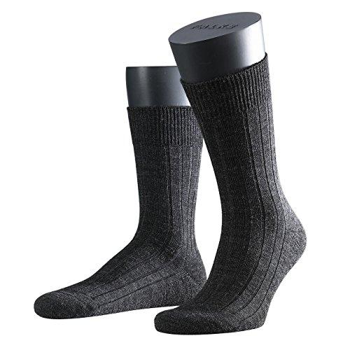 Preisvergleich Produktbild Falke Herren Socken Teppich im Schuh 2er Pack,  Größe:39 / 40;Farbe:anthracite melange