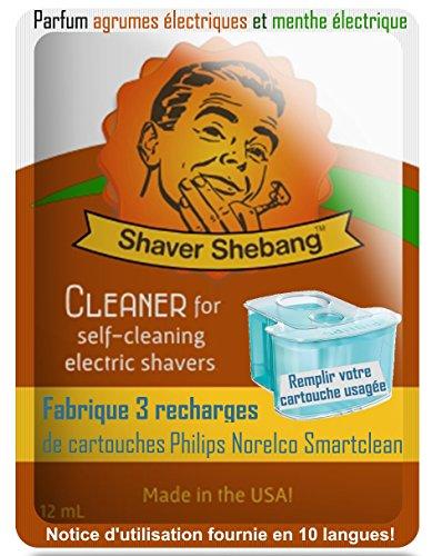 24 ricariche per cartucce Philips Norelco SmartClean - Agrumi e
