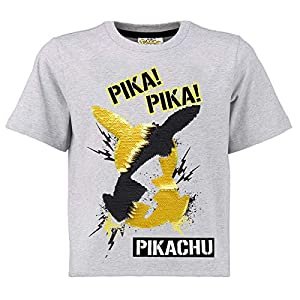 Pokèmon Camiseta Lentejuelas Reversibles para