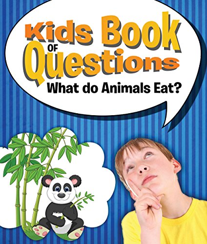 Kids Book of Questions: What do Animals Eat?: Trivia for Kids of All Ages - Animal Encyclopedia (English Edition) - Book Cover Classic Bible