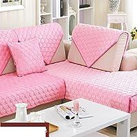 Cuscini del divano di alta qualità fronte/retro antiscivolo breve peluche/ cuscino/ autunno/inverno tessuto telo copridivano-C 70x70cm(28x28inch)