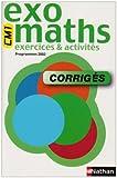 Image de Exomaths : Mathématiques, cycle 3 : CE2-CM1 (Manuel du professeur, sujets corrigés)