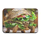 vintage cap , Hamburg Turtle?super Absorbent pad, Carpet Door mat, Door mat, Bath mat, Anti-Slip pad, 31.5 x 19.5 inch