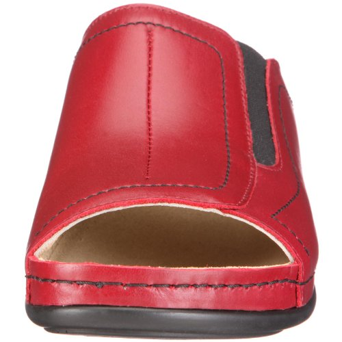 Berkemann Isabella Damen Pantoletten Rot (Weinrot)
