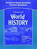World History, Grades 6-8 Document-based Questions Practice Workbook: Mcdougal Littell Middle School World History