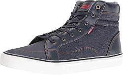 Levis Ashbury Denim Shoes (Black) 9.5 D(M) US