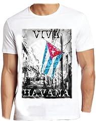 Adultes Numérique T-Shirt Imprimé - Viva Havane