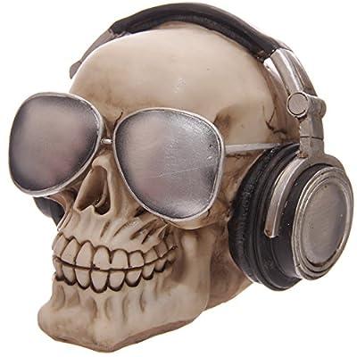 Puckator SK191, Piggy Bank, Skull with Cap/Sunglasses Design