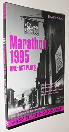 Est Marathon '95: The Complete One-Act Plays (Contemporary Playwrights Series) by Marisa Smith (1995-10-09) par Marisa Smith