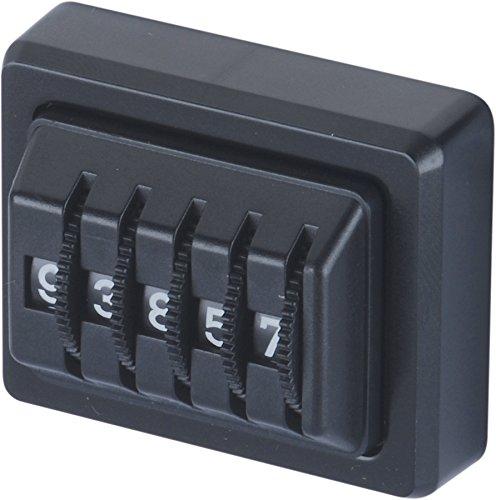 hr-imotion Kilometermerker & Zähler mit 5 mechanischen Ziffern [Made in Germany, selbstklebend] - 10310001