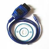 Zantec 1M VAG COM KKL 409.1 OBD2 K-Linie KWP2000 ISO9141 USB-Kabel FÜR VW AUDI SKODA
