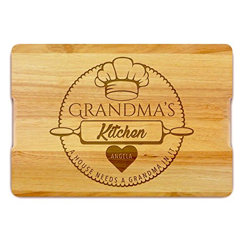 Arredamento per la cucina, tagliere personalizzato, regalo per la nonna - regalo per la festa della mamma, regalo di natale, tagliere in legno inciso