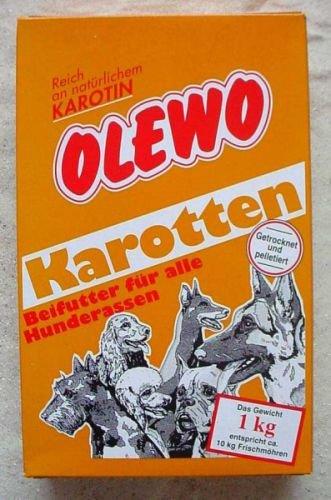 Artikelbild: Olewo Karotten-Peletts 1 kg - Hundefutter