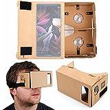 DURAGADGET Gafas de Realidad Virtual VR para Smarphones Smartphone Archos Diamond Omega / Huawei Mate 10 Porsche Design , Mate 10 Pro , Mate 10