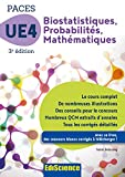 Biostatistiques Probabilités Mathématiques-UE 4 PACES - Manuel, cours + QCM corrigés - Format Kindle - 9782100753161 - 14,99 €