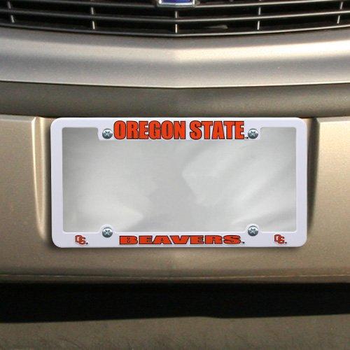 NCAA Oregon State EZ View Kunststoff Rahmen Sports Fan Automotive Zubehör, multicolor, One size