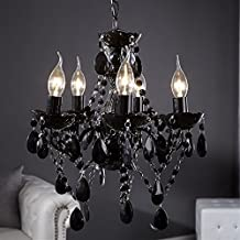 lustre baroque noir. Black Bedroom Furniture Sets. Home Design Ideas