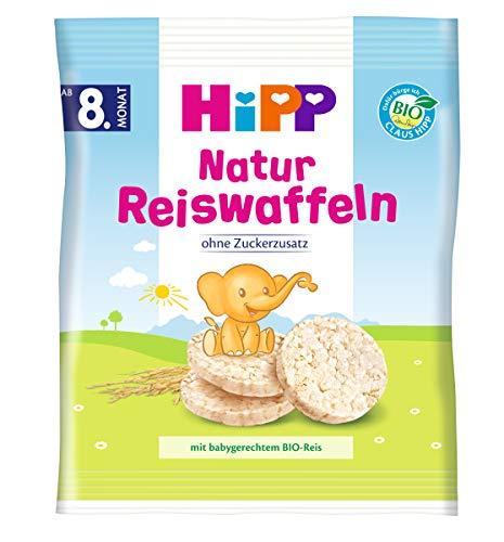 Hipp Kinder Reiswaffeln, 7er Pack (7 x 35 g)