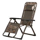 Sessel ZHANGRONG Klappstuhl Liegesessel Klappstuhl Erwachsener Freizeitstuhl Home Rückenlehne Couch (Farbe Optional) -Geeignet für Innen- und Außenbereich (Farbe : A)