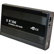 """Carcasa de Disco Duro Externo Aluminio 8.9cm (3.5"""" Pulgadas) USB IDE HDD"""