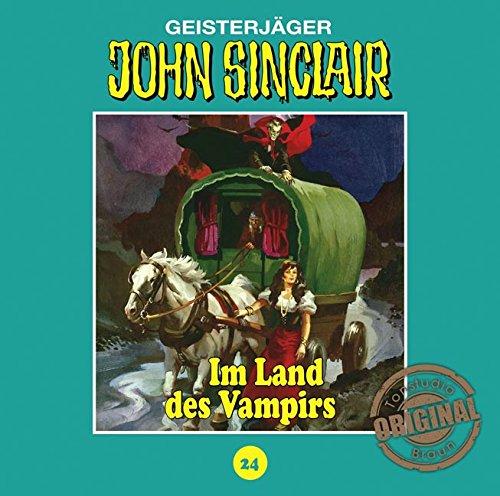 John Sinclair (24) Im Land des Vampirs (Teil 1/3) (Jason Dark) Tonstudio Braun / Lübbe Audio 2016