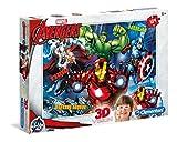 Clementoni Marvel Avengers 3D Glasses Puzzle Children's Jigsaw 104 Piece 6 Years