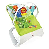 Baby Bouncer SEAT vibrierend Stuhl Curve Fisher Preis Regenwald Freunde Komfort