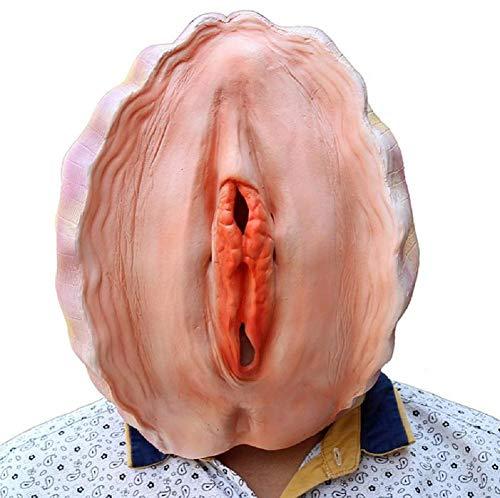 HAOBAO 2017 Jahre Halloween Maske Einzigartige Neuheit Lustig Die neueste Kostüm Party Cosplay Latex Gummi Shell Kopf - Kostüm Einzigartig Lustig