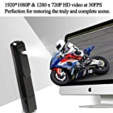1080P HD Mini Digital Voice Recorder USB Spy Camera Pen - Portable Wearable Multifunction Security Hidden Cameras Nanny Cam Professional Audio Recording Devices for Lectures Home Interviews