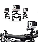 Navitech Fahrrad-Action-Kamera-Roll-Bar fürStealth 2 Sports Action Camera by Drift | Action Shot Camera
