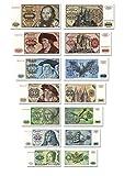 DM Geldscheine von 5 bis 1000 Mark, TOP Reproduktion 1980 DM Geldscheine von 5 bis 1000 Mark, TOP Reproduktion 1980