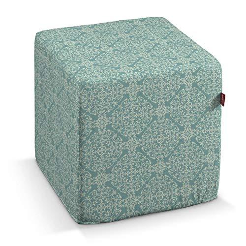 Dekoria Sitzwürfel 40 × 40 × 40 cm mintgrün