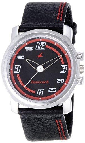 Fastrack Beach Upgrades Analog Black Dial Men's Watch - NE3039SL06