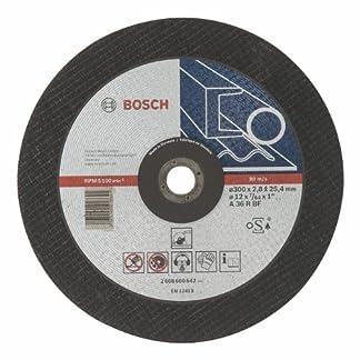 Bosch 2 608 600 542 – Disco de corte recto Expert for Metal – A 36 R BF, 300 mm, 25,40 mm, 2,8 mm (pack de 1)