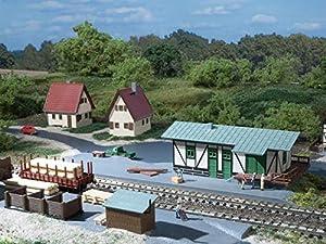 Auhagen - Edificio ferroviario de modelismo ferroviario Escala 1:87 (14451)