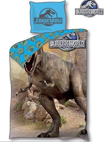 Original Jurassic World Park Tyrannosaurus Rex Öko Tex algodón ropa de cama...