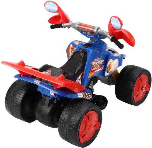 Imagen principal de Injusa 66011 Quad Blaster - Vehículo eléctrico infantil (batería de 6 V)