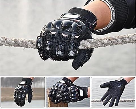 Motorcycle Racing Outdoor Sport ATV UTV Riding Cycling Armor Motocross Pro-Biker Protective Full Finger Gloves Black Size M Fit For 1991-2000 HONDA CBR 600 F4 F3