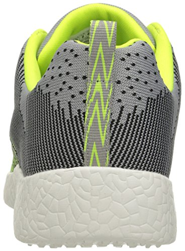 Skechers Burst In the Mix, Fitness Homme Gris