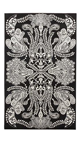 Vallila Interior CM000062-60 Syvämeri - Alfombra de pasillo (68 x 110 cm), color negro