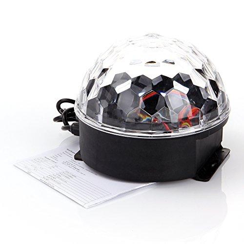 ANNT® Disco DJ Lichteffekt Discokugel Magic Music Ball LED Licht Partybeleuchtung RGB Projektor Bühnenbeleuchtung Club
