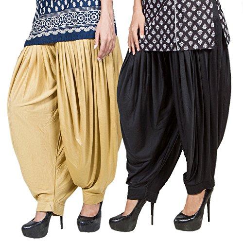 Pietra Combo Patiyala pants salwar for women ( PRT-154 _ XXL _Multi...