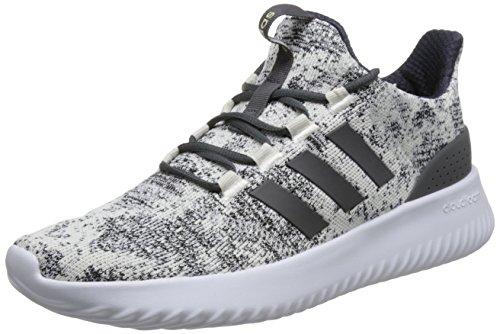 adidas Herren Cloudfoam Ultimate Gymnastikschuhe Grau (Ftwr White/grey Five F17/core Black Ftwr White/grey Five F17/core Black)