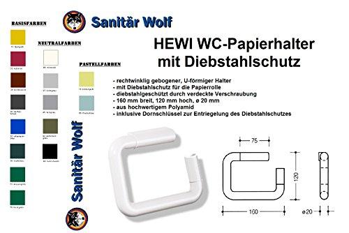 WC-Papierhalter 477.21.100 18 Polyamid senfgelb